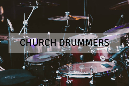 Why Do Church Drummers Have Glasses Around Them?